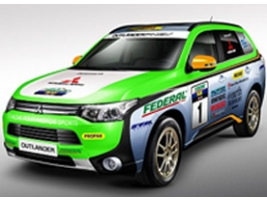 Mitsubishi Outlander PHEV  стартует в Asian Cross Country Rally 2014
