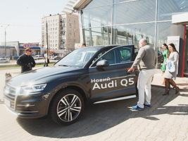 Презентація новинок 2017 року - Audi Q5 та A5 Sportback